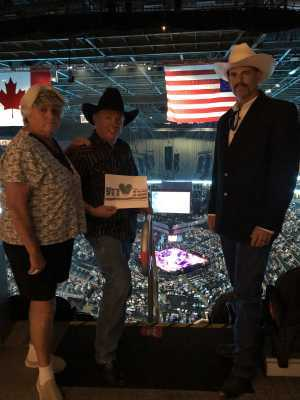 Jim attended George Strait - Strait to Vegas on Aug 23rd 2019 via VetTix