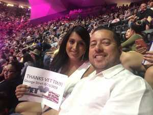 John attended George Strait - Strait to Vegas on Aug 23rd 2019 via VetTix