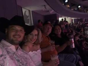 Ayrton attended George Strait - Strait to Vegas on Aug 23rd 2019 via VetTix