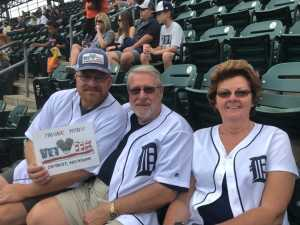 ERNEST attended Detroit Tigers vs. New York Yankees - MLB on Sep 12th 2019 via VetTix