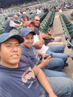 Timothy attended Detroit Tigers vs. New York Yankees - MLB on Sep 12th 2019 via VetTix