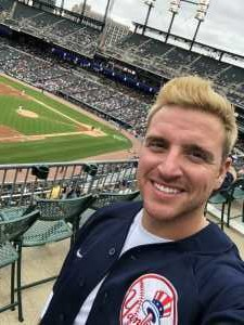 CHAZ attended Detroit Tigers vs. New York Yankees - MLB on Sep 12th 2019 via VetTix