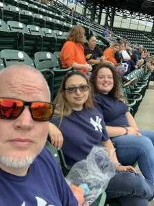 Ed attended Detroit Tigers vs. New York Yankees - MLB on Sep 12th 2019 via VetTix