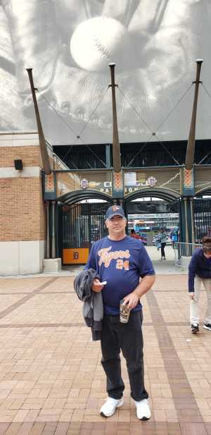 David  attended Detroit Tigers vs. New York Yankees - MLB on Sep 12th 2019 via VetTix
