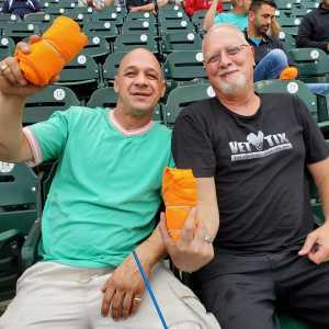 Richard attended Detroit Tigers vs. New York Yankees - MLB on Sep 12th 2019 via VetTix