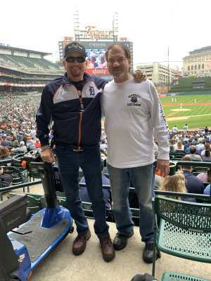 Joseph attended Detroit Tigers vs. New York Yankees - MLB on Sep 12th 2019 via VetTix