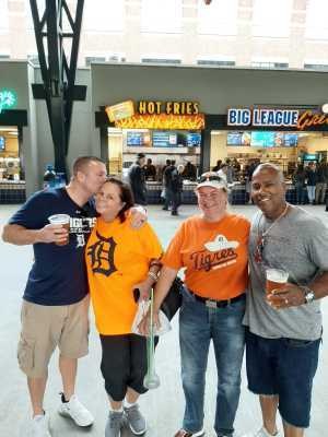 michelle attended Detroit Tigers vs. New York Yankees - MLB on Sep 12th 2019 via VetTix