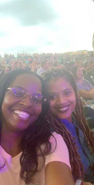 Denise attended Nelly, Tlc and Flo Rida on Aug 23rd 2019 via VetTix