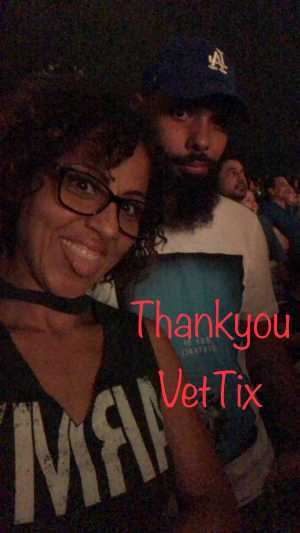 kori attended Nelly, Tlc and Flo Rida on Aug 23rd 2019 via VetTix