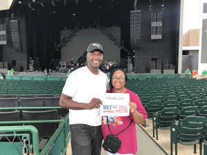 Reginald attended Nelly, Tlc and Flo Rida on Aug 23rd 2019 via VetTix