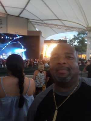 Darryl attended Nelly, Tlc and Flo Rida on Aug 23rd 2019 via VetTix