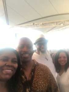 Stanley attended Nelly, Tlc and Flo Rida on Aug 23rd 2019 via VetTix