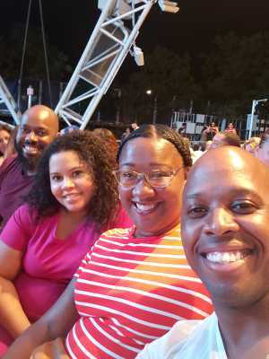 Aubrey attended Boyz II Men - R&b on Aug 22nd 2019 via VetTix