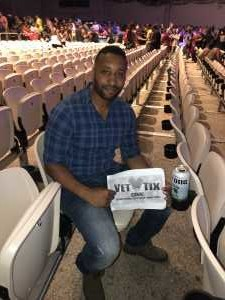 Wilman attended Boyz II Men - R&b on Aug 22nd 2019 via VetTix