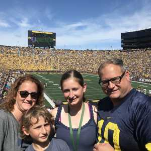 Chaz attended University of Michigan vs. Army - NCAA Football **military Appreciation Game** on Sep 7th 2019 via VetTix