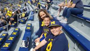 paul attended University of Michigan vs. Army - NCAA Football **military Appreciation Game** on Sep 7th 2019 via VetTix