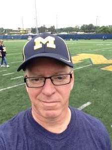 David attended University of Michigan vs. Army - NCAA Football **military Appreciation Game** on Sep 7th 2019 via VetTix