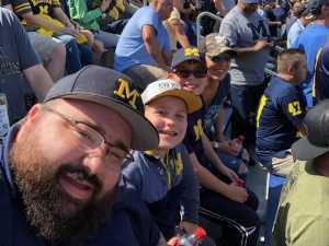 daniel attended University of Michigan vs. Army - NCAA Football **military Appreciation Game** on Sep 7th 2019 via VetTix