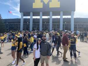 Kevin attended University of Michigan vs. Army - NCAA Football **military Appreciation Game** on Sep 7th 2019 via VetTix
