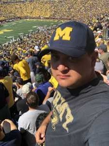 Richard attended University of Michigan vs. Army - NCAA Football **military Appreciation Game** on Sep 7th 2019 via VetTix
