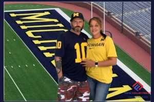 Mike attended University of Michigan vs. Army - NCAA Football **military Appreciation Game** on Sep 7th 2019 via VetTix