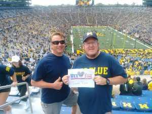 Craig attended University of Michigan vs. Army - NCAA Football **military Appreciation Game** on Sep 7th 2019 via VetTix
