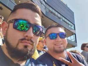 Jaime Tijerina Jr  attended University of Michigan vs. Army - NCAA Football **military Appreciation Game** on Sep 7th 2019 via VetTix