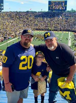 Chris attended University of Michigan vs. Army - NCAA Football **military Appreciation Game** on Sep 7th 2019 via VetTix