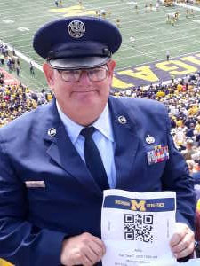 Franklin attended University of Michigan vs. Army - NCAA Football **military Appreciation Game** on Sep 7th 2019 via VetTix