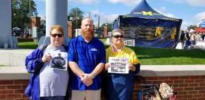 gabriel martin attended University of Michigan vs. Army - NCAA Football **military Appreciation Game** on Sep 7th 2019 via VetTix