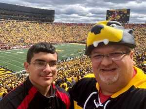 John attended University of Michigan vs. Army - NCAA Football **military Appreciation Game** on Sep 7th 2019 via VetTix