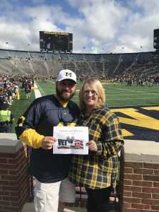 Jonathan attended University of Michigan vs. Army - NCAA Football **military Appreciation Game** on Sep 7th 2019 via VetTix