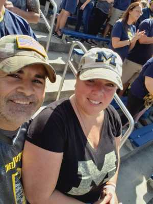 Ben attended University of Michigan vs. Army - NCAA Football **military Appreciation Game** on Sep 7th 2019 via VetTix