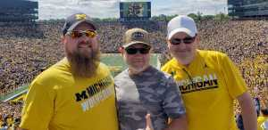 Steven attended University of Michigan vs. Army - NCAA Football **military Appreciation Game** on Sep 7th 2019 via VetTix