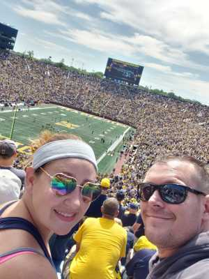 terry attended University of Michigan vs. Army - NCAA Football **military Appreciation Game** on Sep 7th 2019 via VetTix