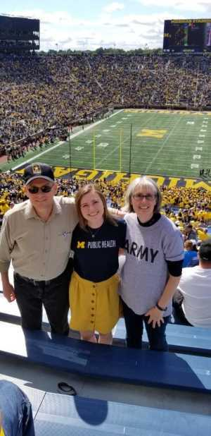 Lloyd A. Conway attended University of Michigan vs. Army - NCAA Football **military Appreciation Game** on Sep 7th 2019 via VetTix