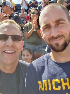 Jack attended University of Michigan vs. Army - NCAA Football **military Appreciation Game** on Sep 7th 2019 via VetTix