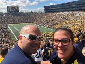 Steve attended University of Michigan vs. Army - NCAA Football **military Appreciation Game** on Sep 7th 2019 via VetTix