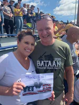 Scott attended University of Michigan vs. Army - NCAA Football **military Appreciation Game** on Sep 7th 2019 via VetTix
