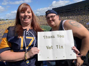 Amanda attended University of Michigan vs. Army - NCAA Football **military Appreciation Game** on Sep 7th 2019 via VetTix