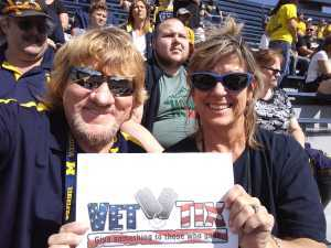 james b. attended University of Michigan vs. Army - NCAA Football **military Appreciation Game** on Sep 7th 2019 via VetTix