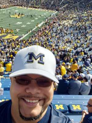 Edward attended University of Michigan vs. Army - NCAA Football **military Appreciation Game** on Sep 7th 2019 via VetTix