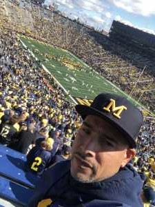 Gabriel attended University of Michigan vs. Army - NCAA Football **military Appreciation Game** on Sep 7th 2019 via VetTix
