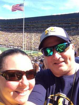 Mark attended University of Michigan vs. Army - NCAA Football **military Appreciation Game** on Sep 7th 2019 via VetTix