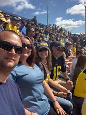 Matthew attended University of Michigan vs. Army - NCAA Football **military Appreciation Game** on Sep 7th 2019 via VetTix