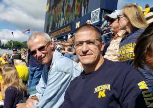 Randy attended University of Michigan vs. Army - NCAA Football **military Appreciation Game** on Sep 7th 2019 via VetTix