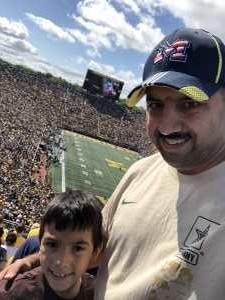 Rick attended University of Michigan vs. Army - NCAA Football **military Appreciation Game** on Sep 7th 2019 via VetTix