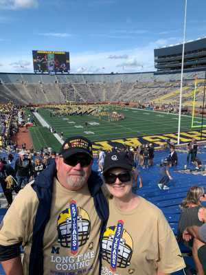 James attended University of Michigan vs. Army - NCAA Football **military Appreciation Game** on Sep 7th 2019 via VetTix