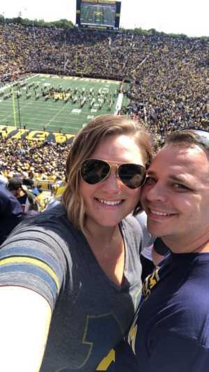 Dan attended University of Michigan vs. Army - NCAA Football **military Appreciation Game** on Sep 7th 2019 via VetTix