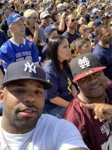 Iren attended University of Michigan vs. Army - NCAA Football **military Appreciation Game** on Sep 7th 2019 via VetTix